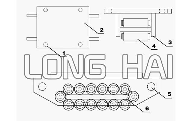 履带式搬运小坦克结构图
